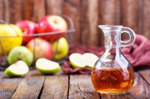 Rezept für ein Apfelessig-Shampoo